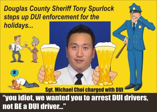 Colorado: Douglas County Sheriff Sgt  Michael Choi didn't