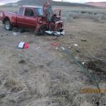 Guage Gray pickup rollover DUI fatal Klamath County Ore. courtesy of KDRV
