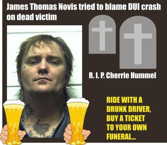 James Thomas Novis DUI fatal