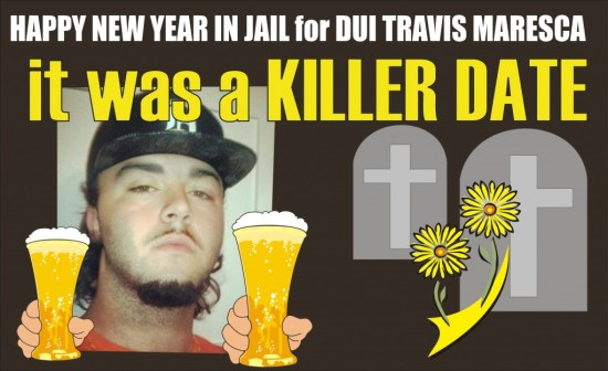 Travis Maresca DUI fatal 010115