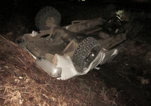 Washington Co So Ore Gales Creek DUI crash 012515