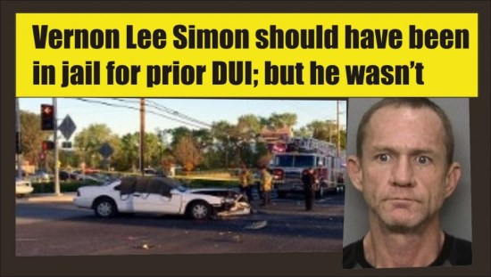 Vernon Lee Simon DUI drugs fatal crash Redding Calif 032615