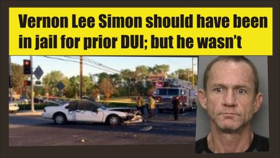 Vernon Lee Simon DUI drugs fatal crash Redding Calif 032615