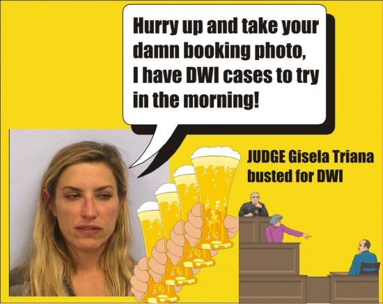 Texas Judge Gisela Triana busted for DWI in Austin TX 032015