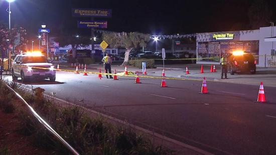 Imperial Beach Calif DUI driver killed pedestrian 090515 Photo courtesy of NBC San Diego.