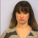 Megan Beronio DWI arrest by Austin Police Texas on 092615