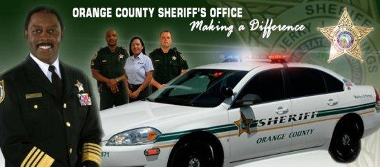 Orange County Fla Sheriff officers