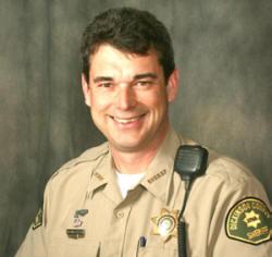 Dickinson County Sheriff Greg Baloun of Spirit Lake Iowa