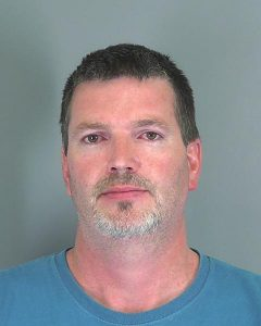 Daniel Dean Spaun DUI arrest South Carolina Highway Patrol 051916 booked into Spartanburg Co So jail
