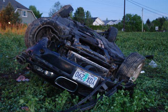 Lovelady DUI crash Washington Co So ORE front view 050116