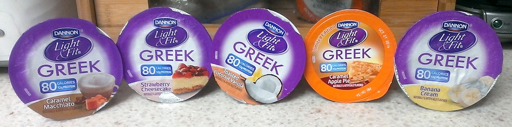 Dannon Light Fit 80 calorie