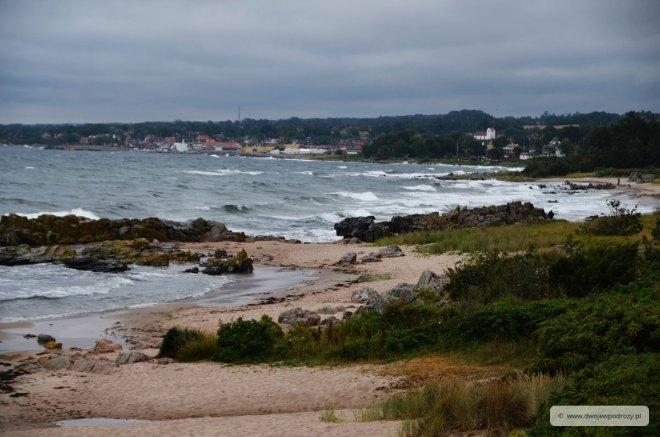 plaże na bornholmie
