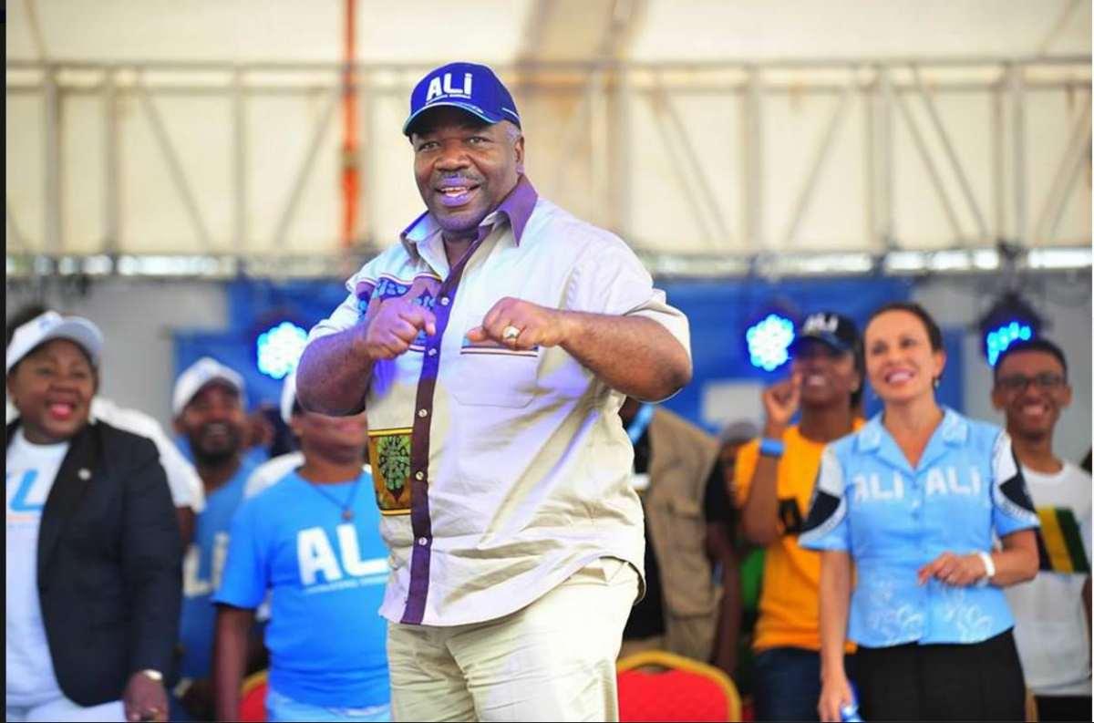 Présidentielle 2016 Ali Bongo dans la province de la Nyanga