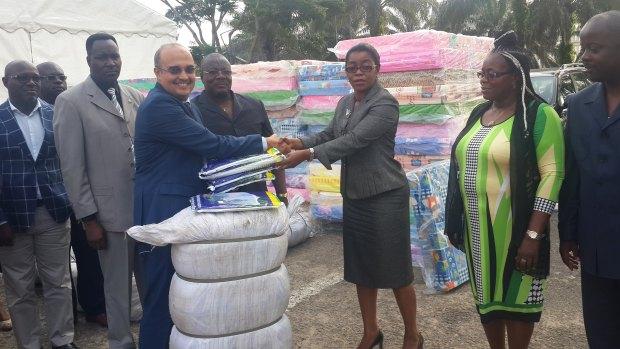 L'équipe municipale de la comme de Libreville a apprécié le geste de Gabon Télécom @