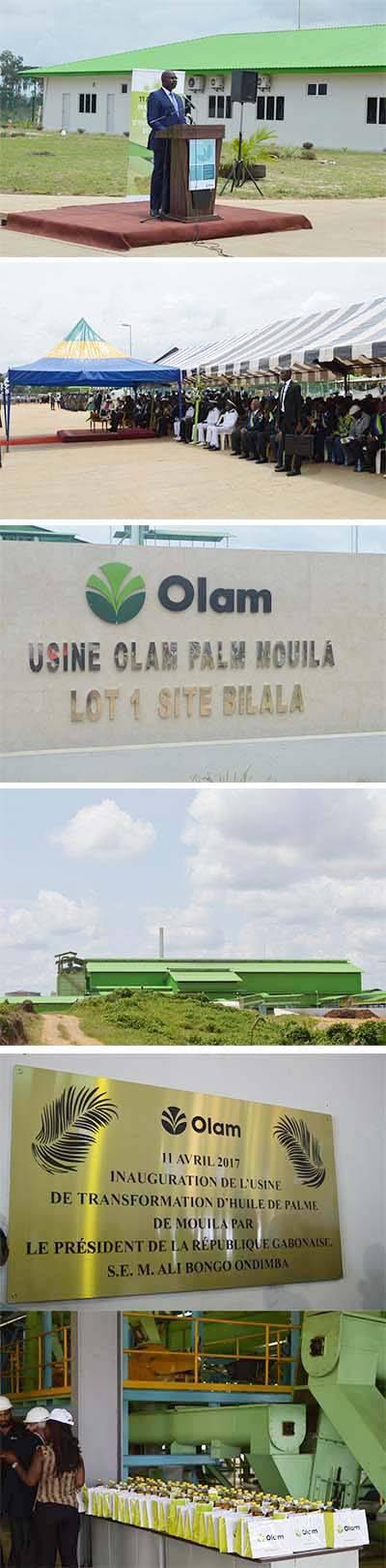 1491935005 9 agro industrie ali bongo inaugure lusine de lhuile de palme de mouila - Agro-industrie : Ali Bongo inaugure l'usine de l'huile de palme de Mouila