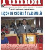 Libreville-27 juin 2017-DISCOURS de Monsieur Emmanuel ISSOZE NGONDET Premier Ministre, Chef du Gouvernement A l'occasion de La présentation du Plan de Relance Economique 2017-2019 à l'Assemblée Nationale