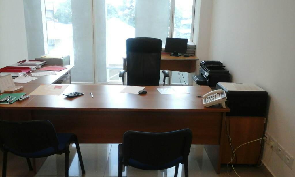 Gabon les images des bureaux du groupe Santullo aprs la