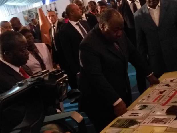 """57ème-Anniversaire-de-l''indépendance-du-Gabon-Ali-Bongo-Ondimba-inaugure-l'Expo-""""Gabon-9-provinces"""""""
