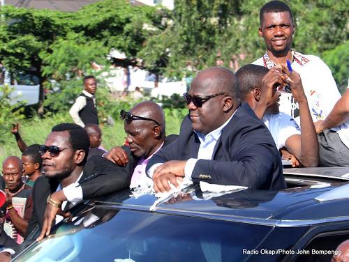 Haut-Katanga : Félix Tshisekedi « dégoûté » par l'attitude de la police