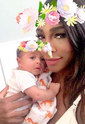 Serena Williams : Elle dévoile une photo trop cute de sa fille