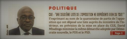 Gabon-Politique- CGE : du rififi entre opposition familiale et opposition radicale