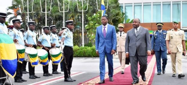 Visite de travail et d'amitié du Président Faure Essozimna Gnassingbé du Togo au Gabon