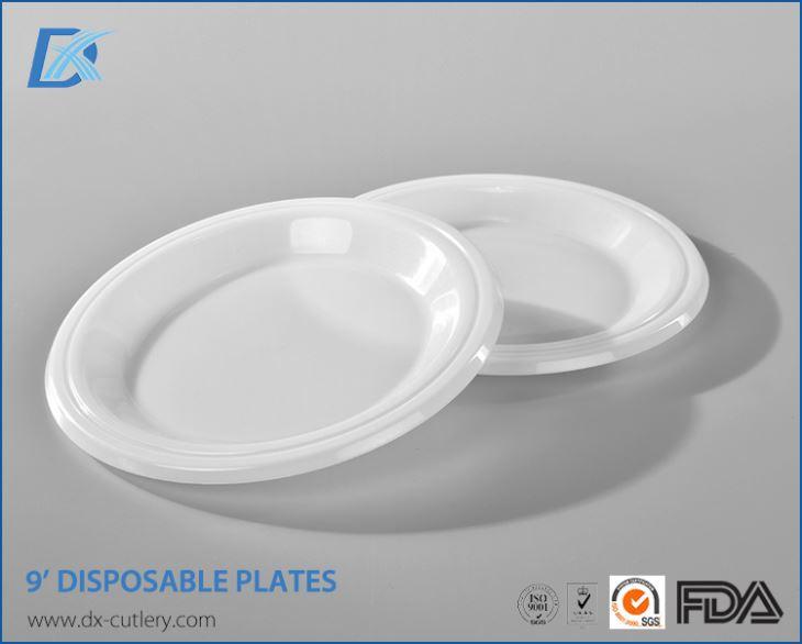Wholesale Plates Plastic Dinner