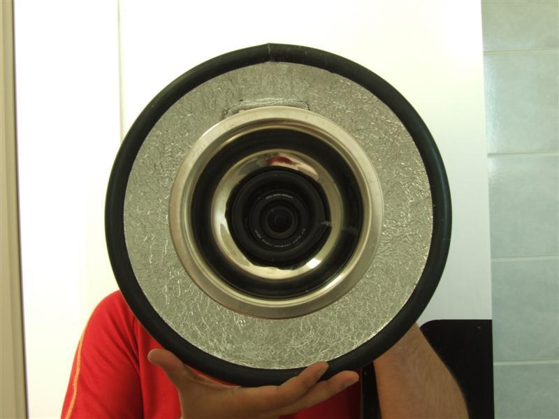 Ring light ou Ring Flash Caseiro, tutorial faça-você-mesmo 01 - DXFoto