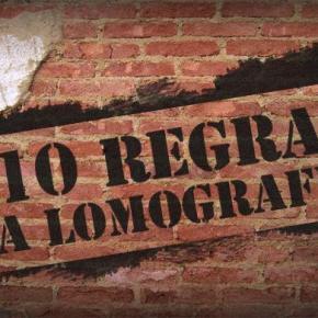 10 regras da lomografia, só pra polemizar