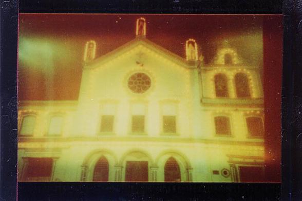 Polaroid i-Zone na Lomo LC-A 1