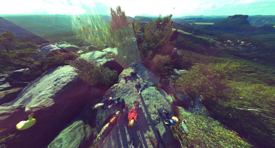 Ballcamera: panorama esférico show de bola - DXFoto