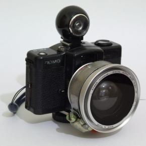 LC-A + Fisheye Adaptor, ou LC-A wide DIY