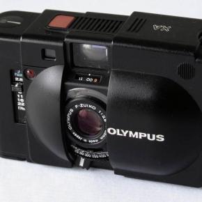 Olympus XA, talvez a menor Rangefinder do mundo