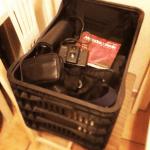 No #instagram, olha o tamanho da bagagem pro #filmepalooza #2