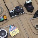 Na minha bolsa: meu set para fotografar em campo saiu no Queimando Filme