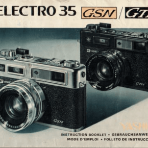 Yashica Electro 35 GSN - Manual de Usuário