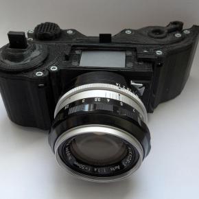 OpenReflex, mais uma câmera feita com impressão 3D