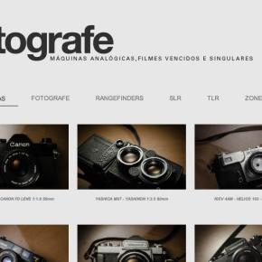 Fotografe, um blog de câmeras analógicas