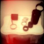 No #instagram, preparando os itens para montagem de lente DIY