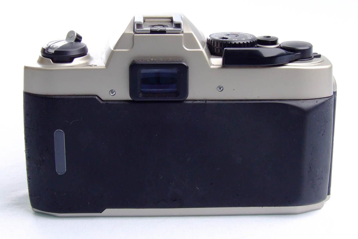 Nikon FM10 - Traseira alinhada