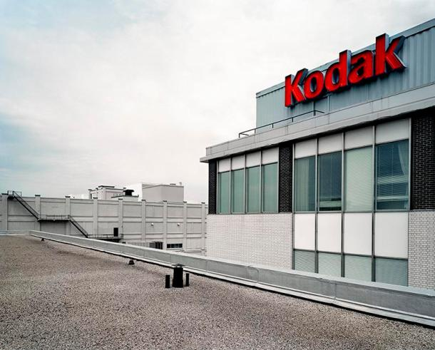 View of Building 7 and 11 From the Roof of Building 9, Kodak Canada, 2006, Chromogenic Print, 76 cm. x 99 cm.