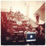 No #instagram: Obrigado pessoas, vcs foram uma audiência incrível e interativa #SENAC #vfb2014!