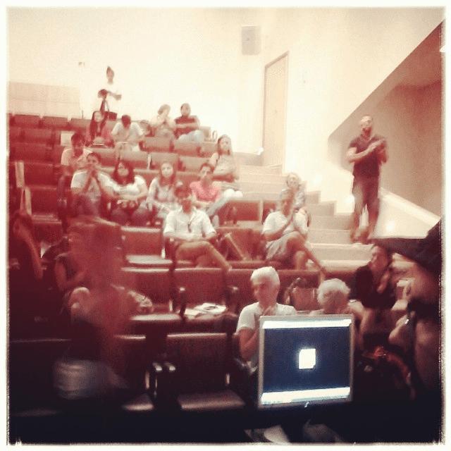 #instagram: Obrigado pessoas, vcs foram uma audiência incrível e interativa #SENAC #vfb2014!