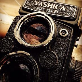 No #instagram, test drive da Yashica Mat