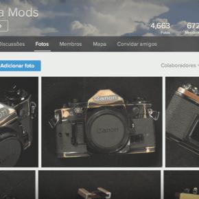 Camera Mods, grupo no flickr pra inspirar faça-você-mesmo