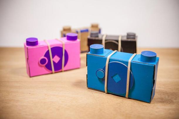Uma pinhole 120 de papel fácil de montar e de graça - DXFoto 01