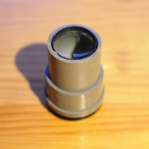 Lente fotográfica construída com cano de PVC e lupa - DXFoto 03