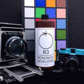 Conheça o R3 Monobath, o revelador preto e branco de banho único