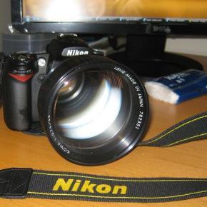 Kowa 65mm f/0.75, uma lente de raios x numa Nikon