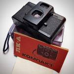 No #instagram, Lomo LC-A de 1985, agora com manual e caixinha pra ficar beleza!